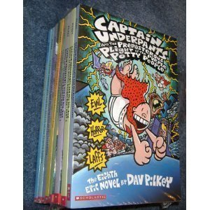 9780439698610: The Ultimate Captain Underpants Collection (Box Set - 8 Books)