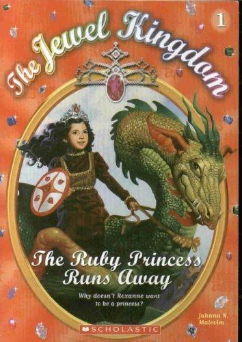 9780439700535: The Ruby Princess Runs Away (Jewel Kingdom, Book 1)