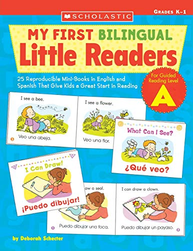 9780439700696: My First Bilingual Little Readers: Level a: 25 Reproducible Mini-Books in English and Spanish That Give Kids a Great Start in Reading (Teaching Resources)