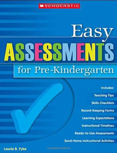 9780439700719: Easy Assessments for Pre-Kindergarten (Teaching Resources)