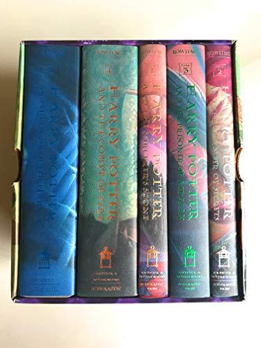 9780439705523: Harry Potter Hardcover Box Set (Books 1-5)