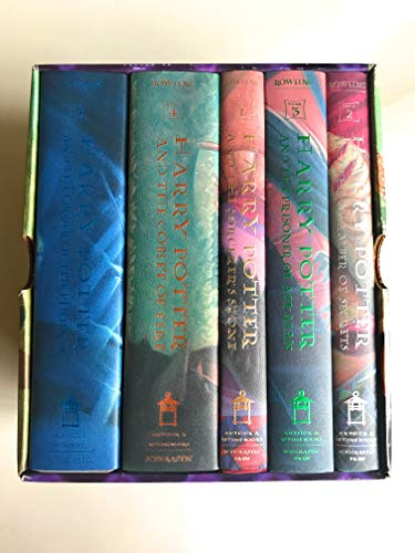 9780439705523: The Harry Potter Collection: The First Five Breathtaking Adventures at Hogwarts: 1-5