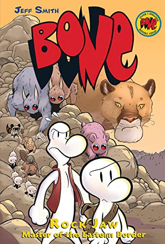 Rock Jaw: Master of the Eastern Border (Bone Reissue Graphic Novels (Hardcover))