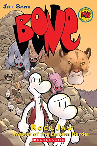 9780439706360: Bone, Vol. 5: Rock Jaw, Master of the Eastern Border