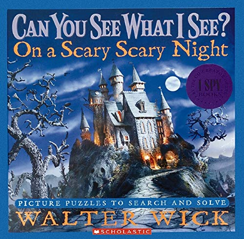 9780439708708: On a Scary Scary Night: Picture Puzzles to Search and Solve (Can You See What I See?)