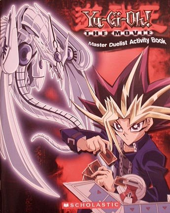 9780439709620: Yu-Gi-Oh! The Movie (Master Duelist Activity Book