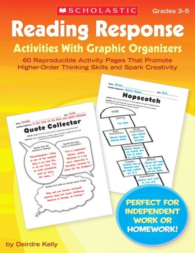 9780439720861: Reading Response Activities with Graphic Organizers: 60 Reproducible Activity Pages That Promote Higher-Order Thinking Skills and Spark Creativity