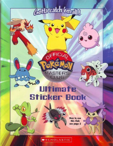 9780439721004: Official Pokemon Master's Club Ultimate Sticker Book