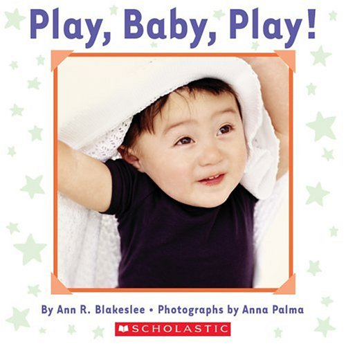 Play, Baby, Play 9780439725934 Introducing Photo Baby Cloth and Board Books! They're soft and pillowy; they're wrinkly and crinkly; they're durable and sturdy! -- They're a cloth book and board book in one! This innovative, one-of-a-kind format is like nothing Cartwheel has ever published! Anna Palma's captivating photographs of adorable babies are printed on satiny cloth pages that crinkle when little hands touch them. A sturdy board book border surrounds the photographs. Infants will marvel at the combination of textures and at Palma's engaging, brightly colored pictures. Sweet, simple text describing all the ways that babies play complements this unique format.
