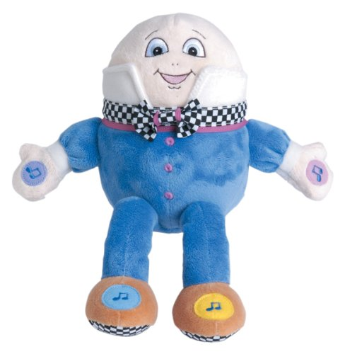 9780439726948: Real Mother Goose: The Real Mother Goose (Humpty Dumpty Musical Toy)