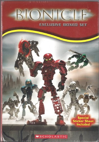 9780439727037: Bionicle Boxed Set: Chronicles 1-4 ; Adventures 1-3 [Taschenbuch] by