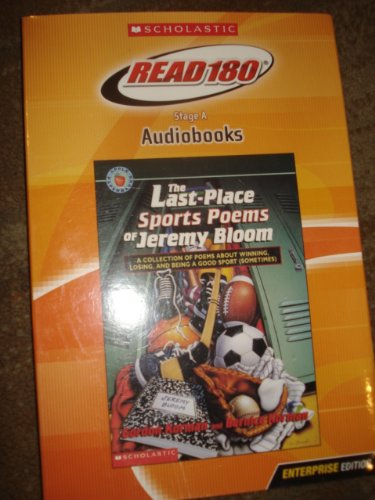 9780439731157: The Last-Place Sports Poems of Jeremy Bloom (Scholastic Read 180 Lexile NP)