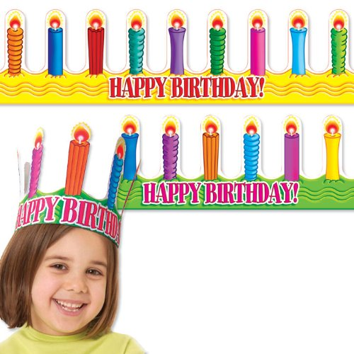 9780439732079: Happy Birthday Crowns (Crowns & Visors)