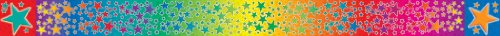 9780439732215: Rainbow Stars Borders with Corners