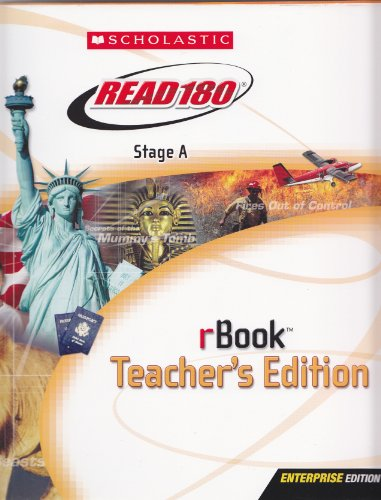 9780439734820: Read 180: Stage A rBook (Teacher's Edition)