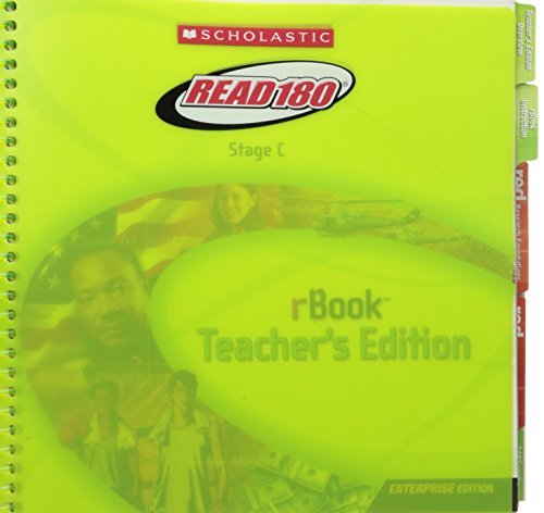 9780439734851: Scholastic Read 180 Stage C rBook Teacher's Edition