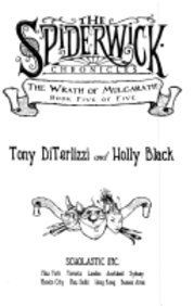9780439735681: The Wrath of Mulgarath: The Spiderwick Chronicles Book 5