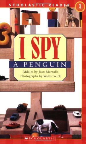 9780439738620: Scholastic Reader Level 1: I Spy a Penguin