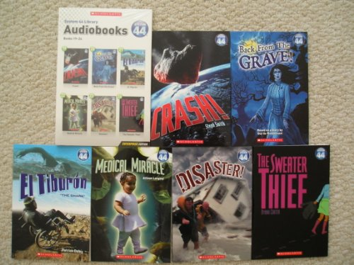 9780439741705: System 44 Library Audiobooks and Paperbacks 19-24 (Crash, Back From the Grave, El Tiburon, Medical Miracle, Disaster, Sweater Thief)