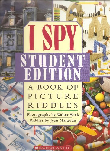 9780439741958: I Spy Student Edition A book of Picture Riddles