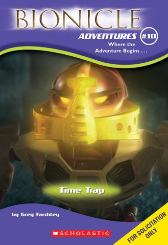 Time Trap (Bionicle Adventures, No. 10)