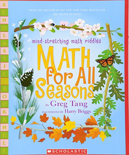 9780439755375: Math For All Seasons: Mind-Stretching Math Riddles (Scholastic Bookshelf)