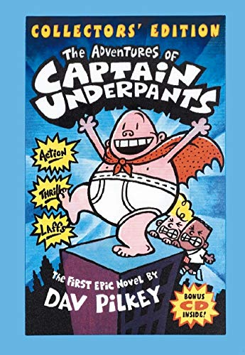 9780439756686: The Adventures of Captain Underpants (Collectors' Edition with Bonus CD Included)