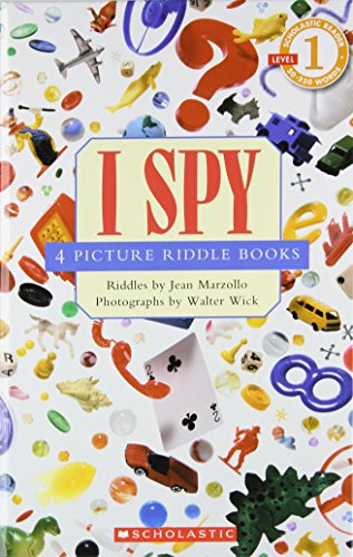 9780439763097: Scholastic reader, Level 1: I Spy 4 Picture Riddle Books