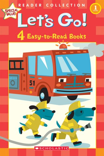 9780439763158: Let's Go! 4 Easy-to-Read Books (Scholastic Reader Collection Level 1)