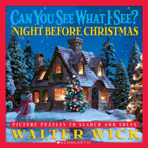 9780439769273: Can You See... Night Before Christmas: Picture Puzzles to Search and Solve (Can You See What I See?)