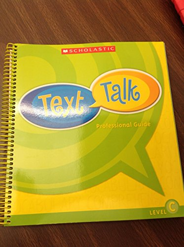 9780439769617: Text Talk Professional Guide (Level C)
