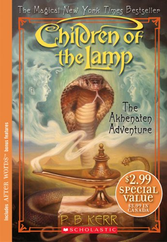 9780439771351: Children Of The Lamp #1: The Akhenaten Adventure