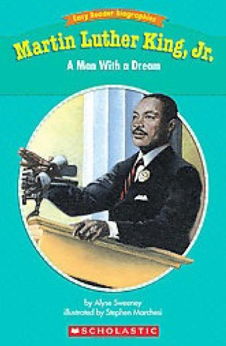 9780439774192: Easy Reader Biographies: Martin Luther King, Jr.: A Man With a Dream