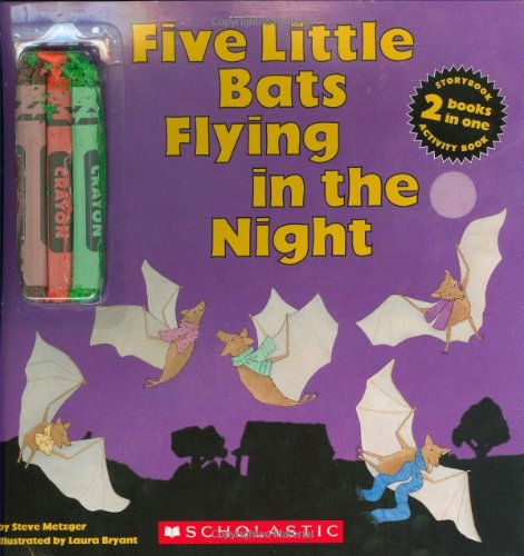 9780439775922: Five Little Bats Flying In The Night