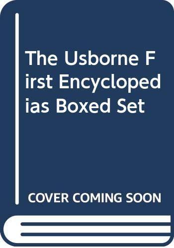 9780439781831: The Usborne First Encyclopedias Boxed Set