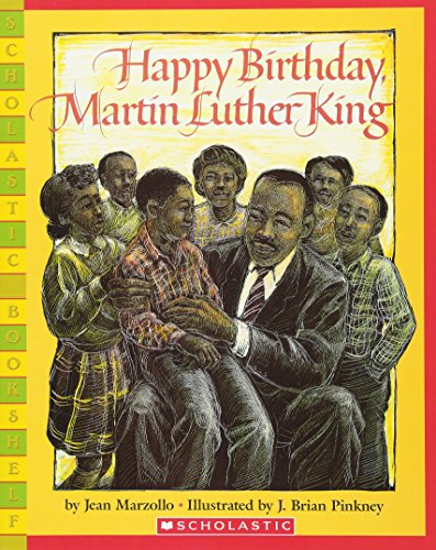 9780439782241: Happy Birthday, Martin Luther King Jr. (Scholastic Bookshelf)
