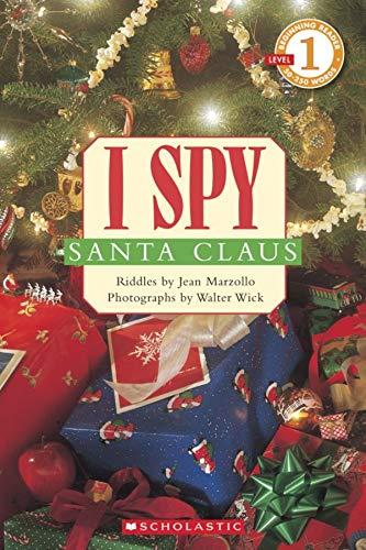 9780439784146: I Spy Santa Claus: Level 1 (Scholastic Reader Level 1)