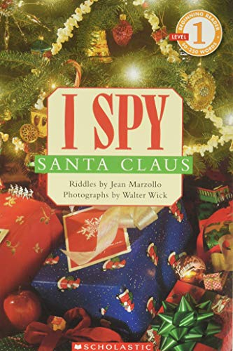 9780439784146: I Spy Santa Claus (Scholastic Reader, Level 1)