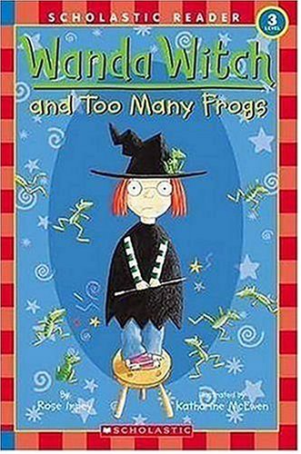 Wanda Witch And Too Many Frogs (Scholastic: Impey, Rose
