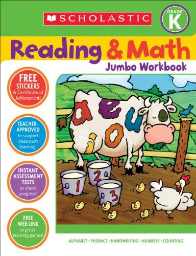 9780439785990: Reading & Math Jumbo Workbook: Grade K