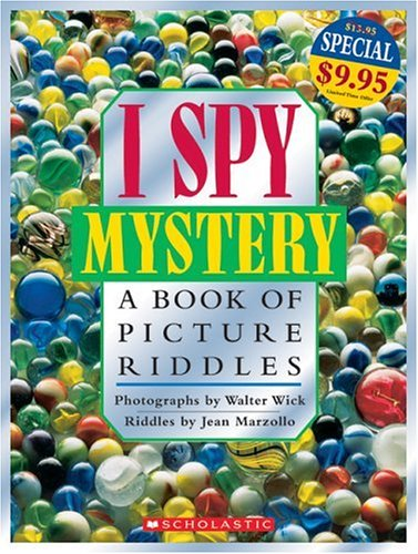 9780439787314: I Spy Mystery: A Book of Picture Riddles (I Spy (Scholastic Hardcover))