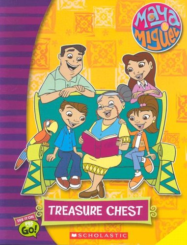 9780439789608: Treasure Chest with Sticker and Other (Maya & Miguel)