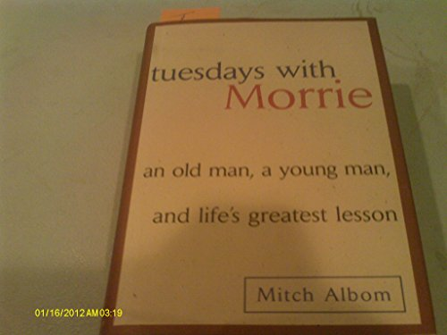 9780439791175: Tuesday with Morrie