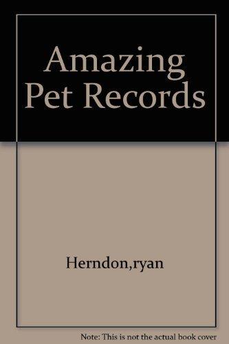 9780439791885: Amazing Pet Records