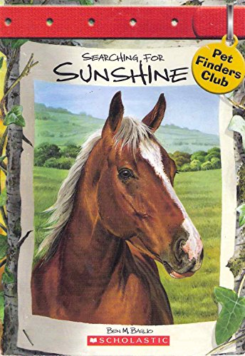 9780439792493: Searching for Sunshine (Pet Finders Club #5)