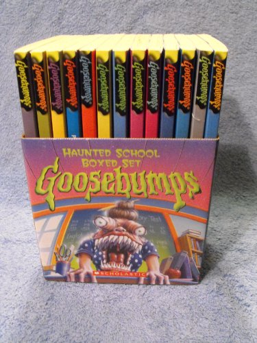 9780439798105: Goosebumps Haunted School Boxed Set (Box Set)
