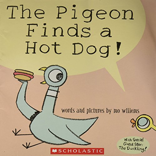 9780439800129: The Pigeon Finds a Hot Dog! [Taschenbuch] by Mo Willems