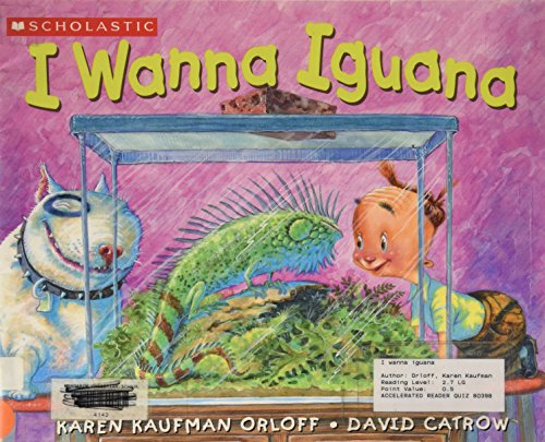 9780439800150: I Wanna Iguana