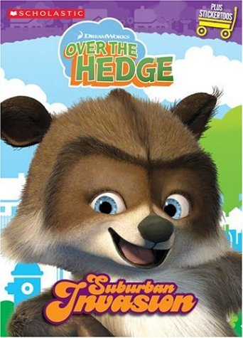 9780439801485: Color & Activity: Suburban Invasion (Over The Hedge)
