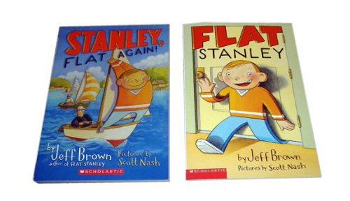 9780439805148: Flat Stanley and Stanley, Flat Again! Two Pack (Flat Stanley)